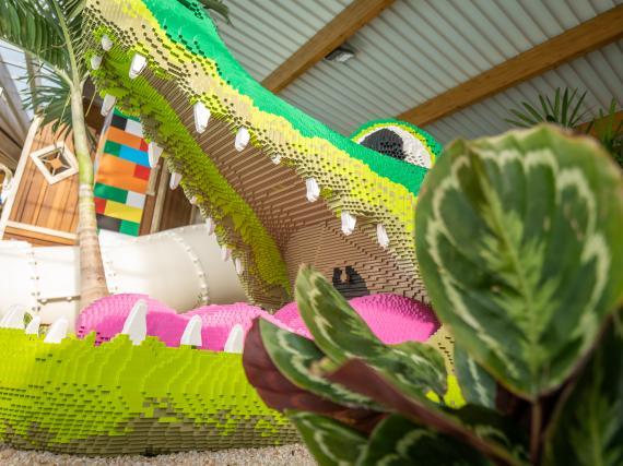 crocodile lego camping 5 étoiles vendée parc aquatique couvert